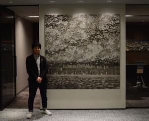 「東京」設置風景3