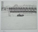 風間完パリ時代1-サン・ルイの橋