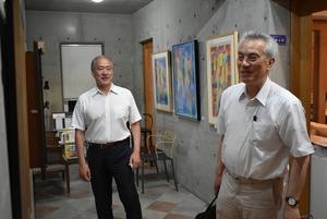 20180720水沢勉先生と内間安樹さん