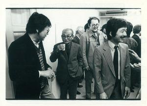 19820409プリントシンポジウム展 ギャラリー方寸 岡部徳三 斎藤義重