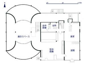 エスプリ・ヌーヴォー館_1階平面図