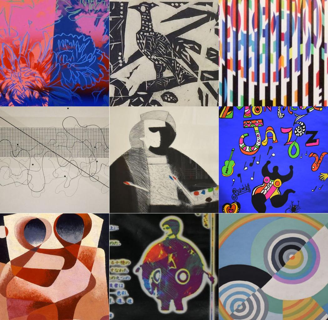 「霜月の画廊コレクション展」より、アンディ・ウォーホル