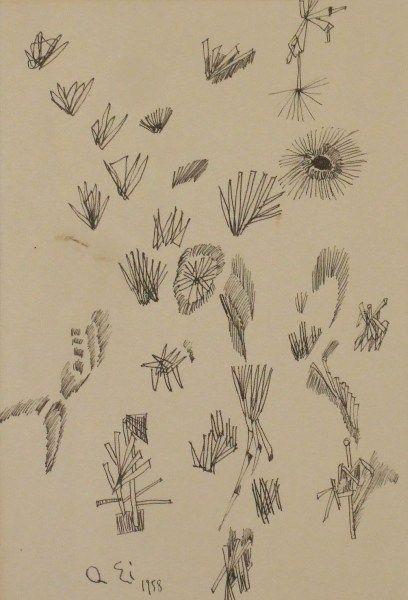 瑛九1958年ペン ときの忘れもの : 靉嘔・瑛九・オノサトとデモクラートの作家たち - liv