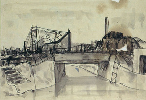 5焼跡の橋