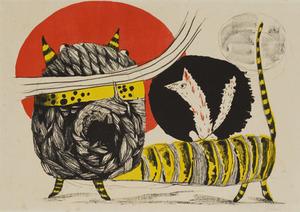 桂ゆき「虎の〜」