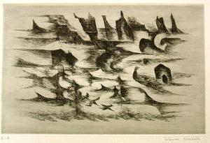 難波田龍起「海の風」600