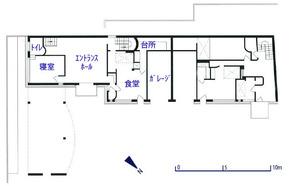 ラ・ロシュ=ジャンヌレ邸_1階平面図