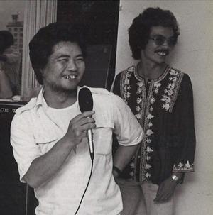 19780710関根歓送会、関根と吉田