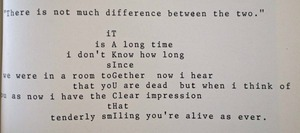 図19-10 ケージの追悼詩