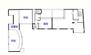 ラ・ロシュ=ジャンヌレ邸_3階平面図