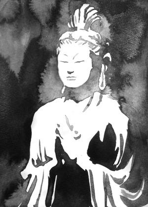 君島彩子のエッセイ「墨と仏像と私」 第8回