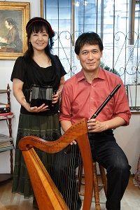 第12回ギャラリーコンサートのご案内〜11月14日 守安功・雅子さんを迎えて