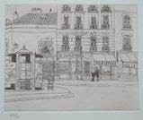風間完パリ時代1-街の窓