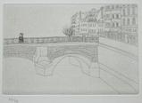 風間完パリ時代2巻-橋のある風景