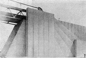 トリボロー橋の橋頭堡