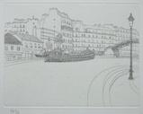 風間完パリ時代2巻-北駅近くの運河