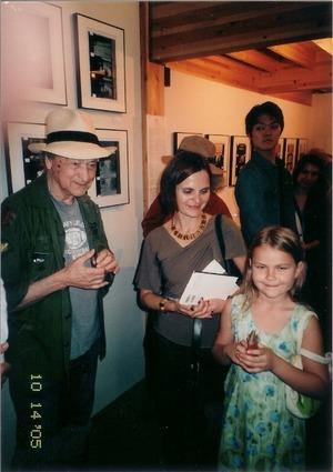 2005年メカス展リトアニア大使館員