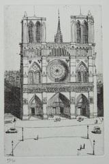 風間完パリ時代1-ノートルダム寺院