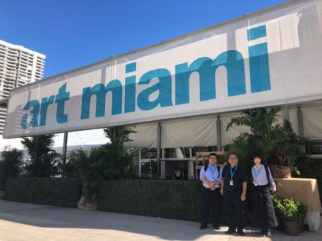 スタッフSの海外ネットサーフィン 番外編「葉栗剛個展@Art Miami 2019」