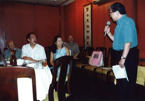 内間安瑆先生と早稲田の友人たち