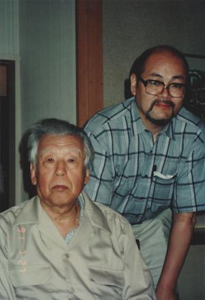 1991年7月27日軽井沢_久保貞次郎2