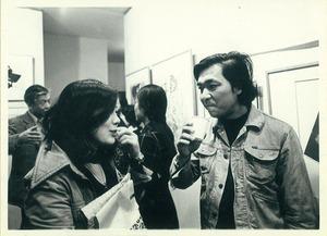 19741007ギャラリープラネット 久保貞次郎 池田令子 木村光佑