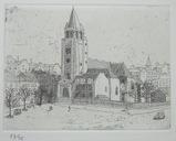 風間完パリ時代2巻-広場