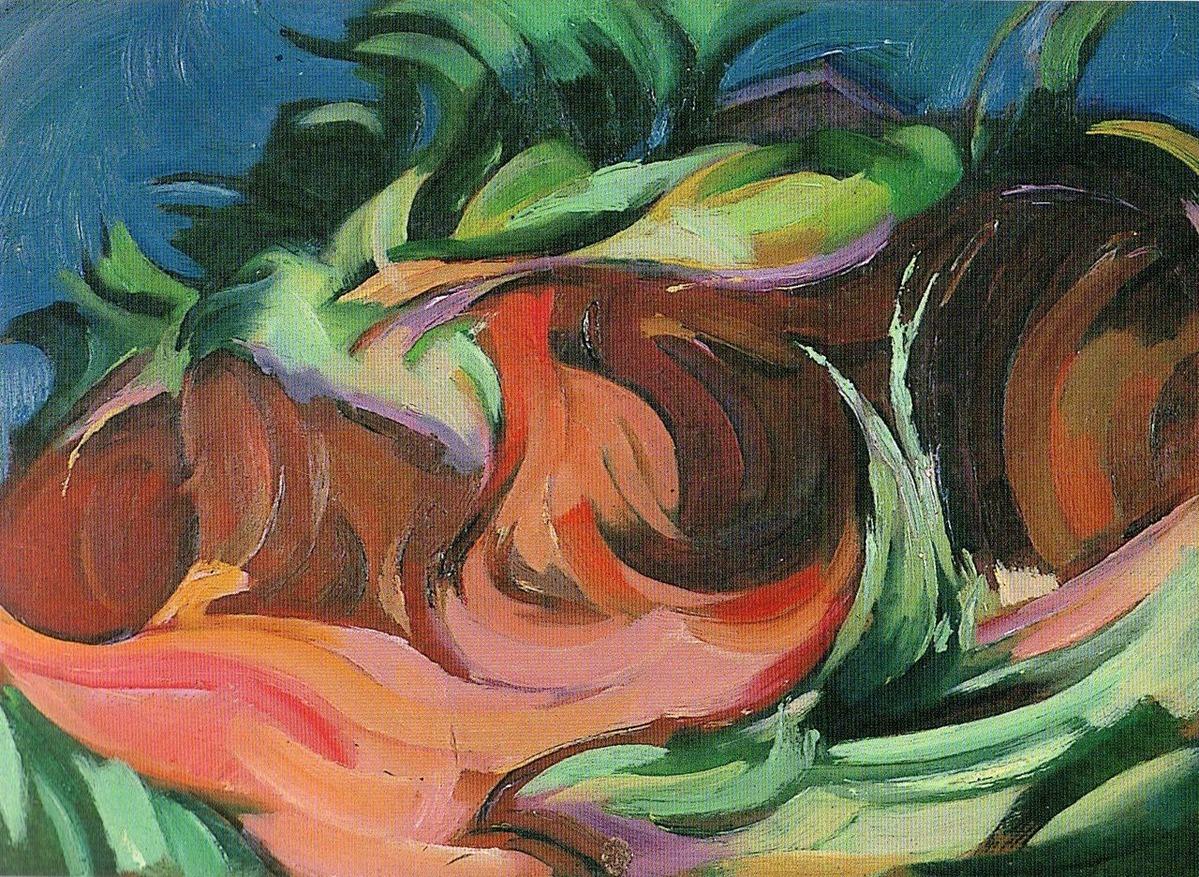 05「崖と草」