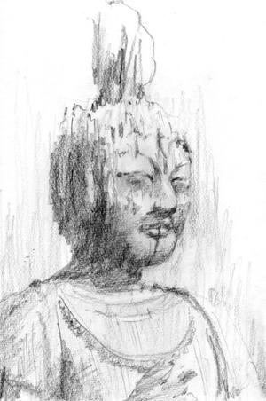 君島彩子のエッセイ「墨と仏像と私」 第6回