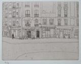 風間完パリ時代3巻-街角