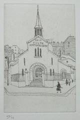 風間完パリ時代1-小さな教会