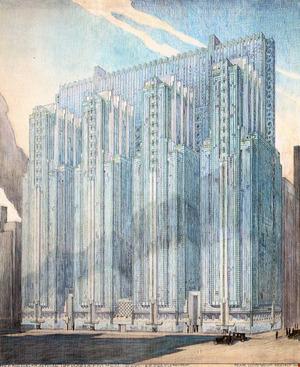 建築家のドローイング 第11回 フランク・ロイド・ライト