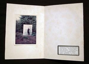 図22-10 扉に鳥影 表紙裏・奥付頁