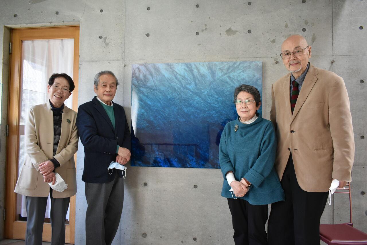 「Tricolore 2021—根岸文子・宇田義久・釣光穂」ご来場ありがとうございました。