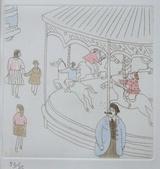 風間完パリ時代2巻-メリーゴーランド