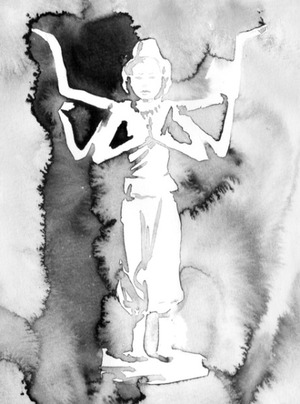 君島彩子のエッセイ「墨と仏像と私」 第5回
