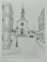 風間完パリ時代2巻-街角の教会