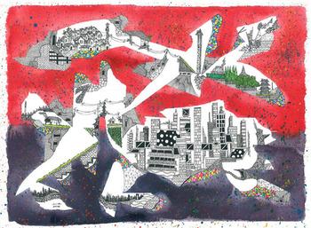 光嶋裕介_幻想都市風景_Urban Landscape Fantasia 2014-3