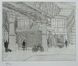風間完パリ時代1-メトロ・グラシェールの駅