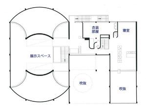 エスプリ・ヌーヴォー館_2階平面図