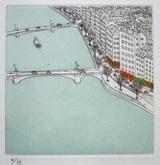 風間完パリ時代3巻-河岸