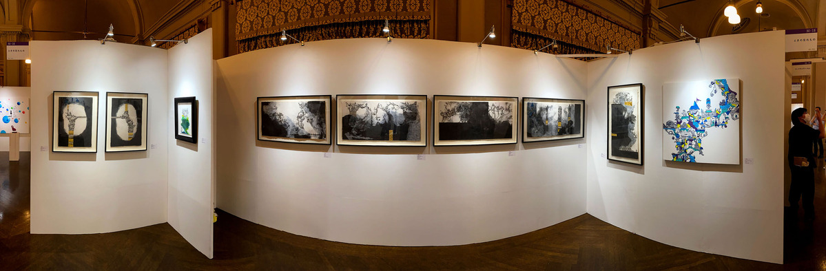 光嶋裕介「ART OSAKA 2021」に参加して