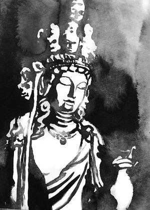 君島彩子のエッセイ「墨と仏像と私」 第11回