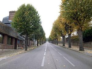 図22-8 ルーアンの坂道
