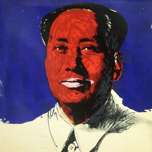 アンディ・ウォーホル「毛沢東」2