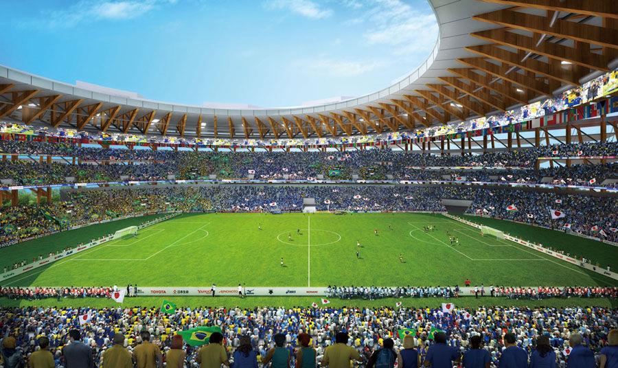 新国立競技場にサッカーファンの疑問 ...