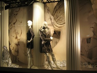 display at selfridges