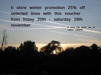 b store promotion