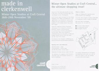 Open studio invite