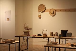 DOと岡尾さんで考えた「竹皮編み展」